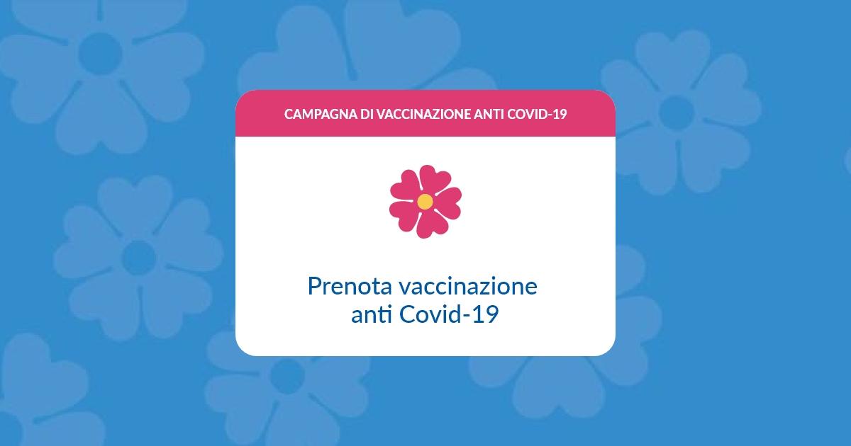 Prenotazione on-line del vaccino anticovid – Servizio di supporto alla prenotazione