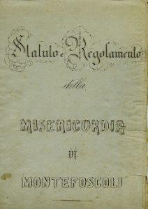 Copertina Statuto 1912